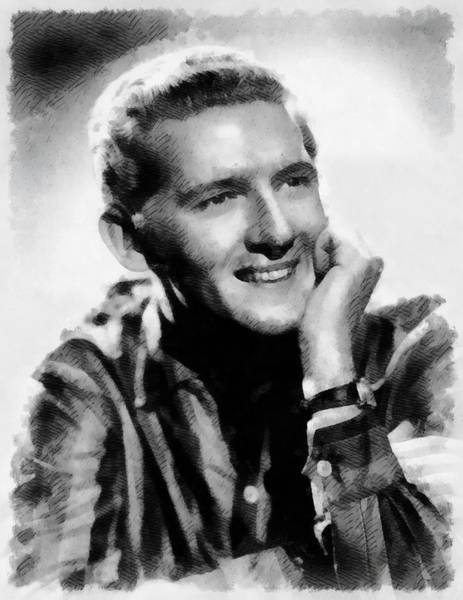 Wall Art - Painting - Jerry Lee Lewis, Singer by John Springfield