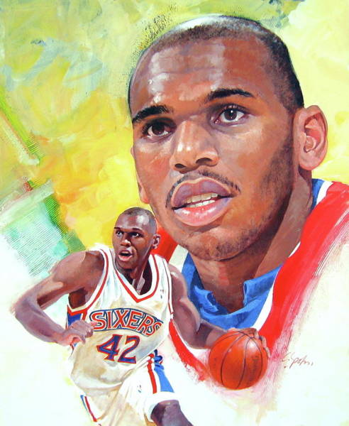 Jerry Stackhouse Art Print