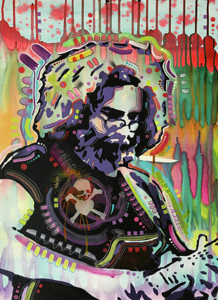 Wall Art - Painting - Jerry V1.2 by Dean Russo Art