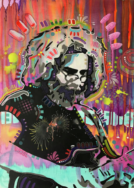 Wall Art - Painting - Jerry V1.3 by Dean Russo Art