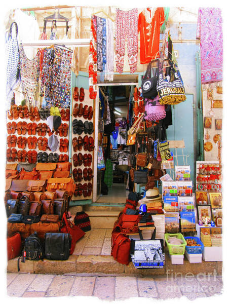 Photograph - Jerusalem Store by Donna L Munro