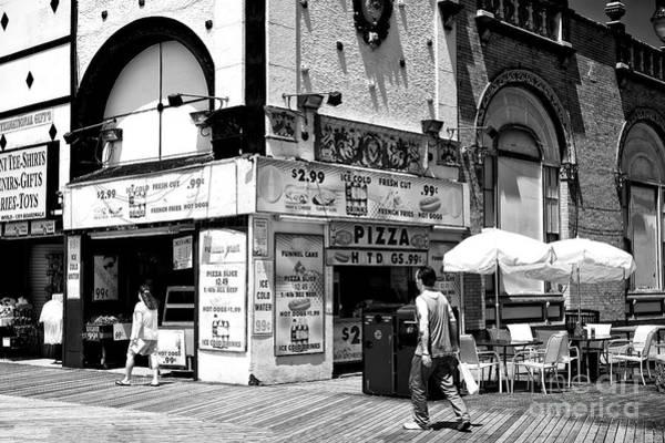 Photograph - Jersey Boardwalk by John Rizzuto