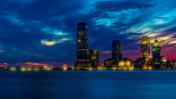 Photograph - Jersey City Twilight by Chris Lord