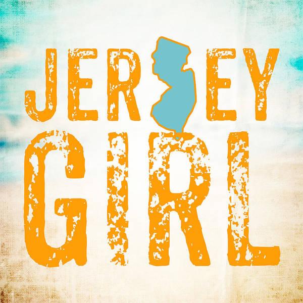 Wall Art - Digital Art - Jersey Girl by Brandi Fitzgerald
