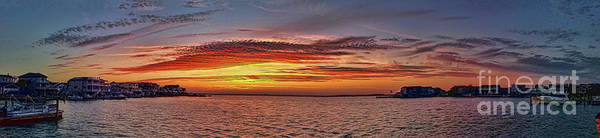 Photograph - Jersey Shore Panorama Ship Bottom by Jeff Breiman