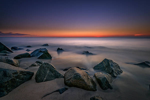 Down The Shore Photograph - Jersey Shore Tranquility by Rick Berk