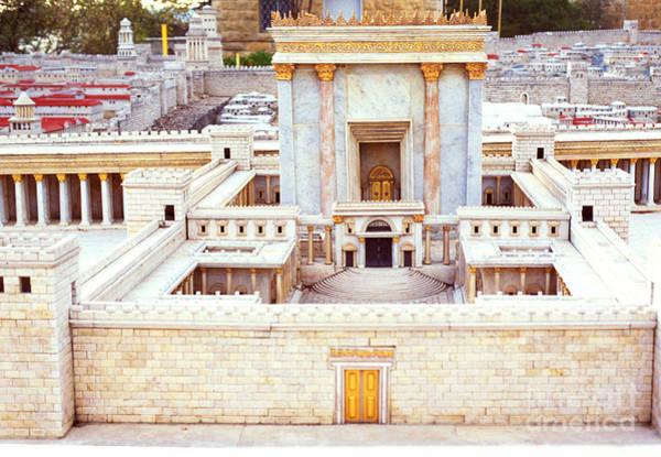 Photograph - Jerusalem 70 Ad by Thomas R Fletcher