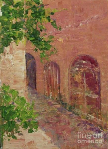 Painting - Jerusalem Alleyway by Gail Kent