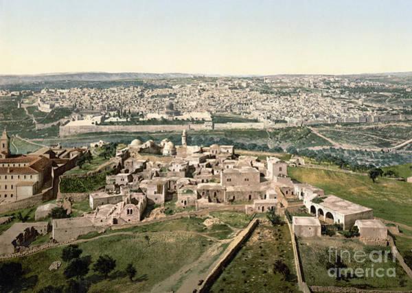 Photograph - Jerusalem, C1900 by Granger