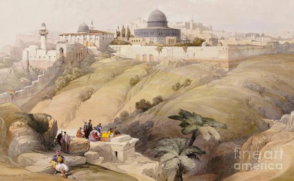 Wall Art - Painting - Jerusalem by David Roberts