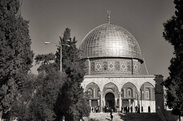 Church Of The Holy Sepulcher Photograph - Jerusalem Dome Of The Rock by Josue Ruiz