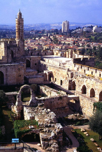 Jewish Homeland Photograph - Jerusalem From The Tower Of David Museum by Thomas R Fletcher