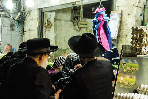 Ortodox Wall Art - Photograph - Jerusalem Market by Pamina Goldenberg thiery