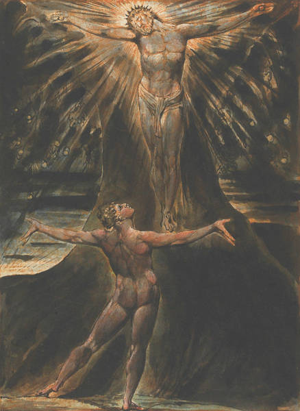 Relief - Jerusalem, Plate 76 by William Blake