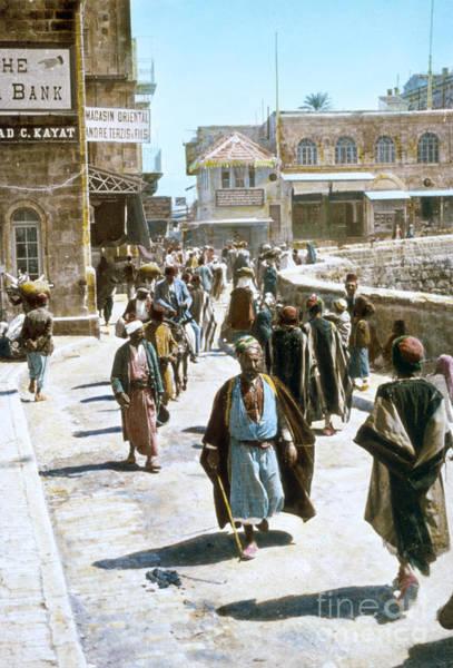 Photograph - Jerusalem Street Scene by Granger