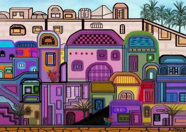 Jerusalem Tapestry Art Print by Sher Magins