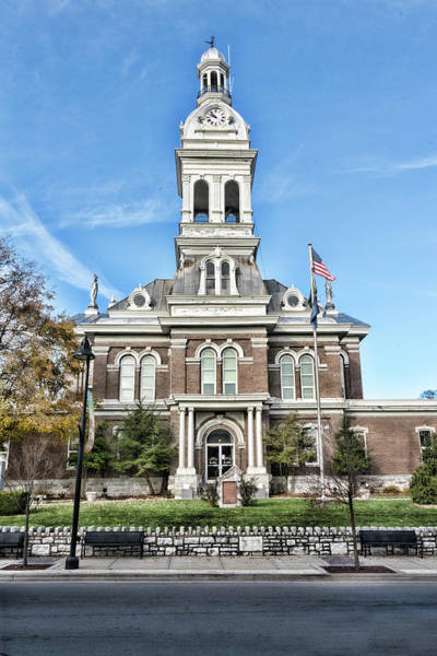 Photograph - Jessamine County Courthouse by Sharon Popek