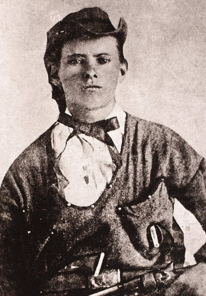 Photograph - Jesse James (1847-1882) by Granger