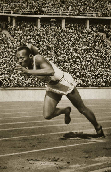Wall Art - Photograph - Jesse Owens by American School