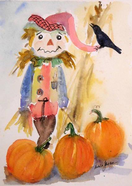 Painting - Jester John by Anna Jacke