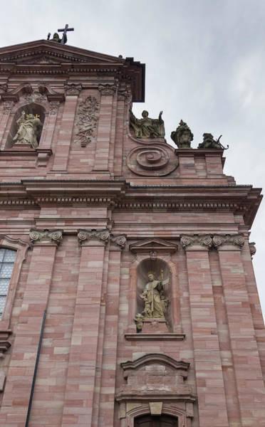 Angel Of Peace Photograph - Jesuitenkirche Heidelberg Germany by Teresa Mucha