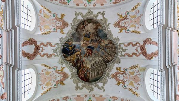 Wall Art - Photograph - Jesuitenkirche -- Lucerne Jesuit Church by Stephen Stookey