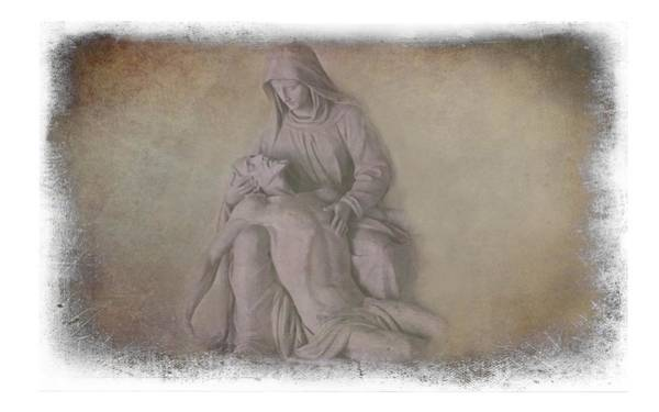 Photograph - Jesus And Mary by Movie Poster Prints