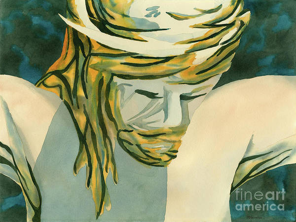 Wall Art - Painting - Jesus by Annette McGarrahan