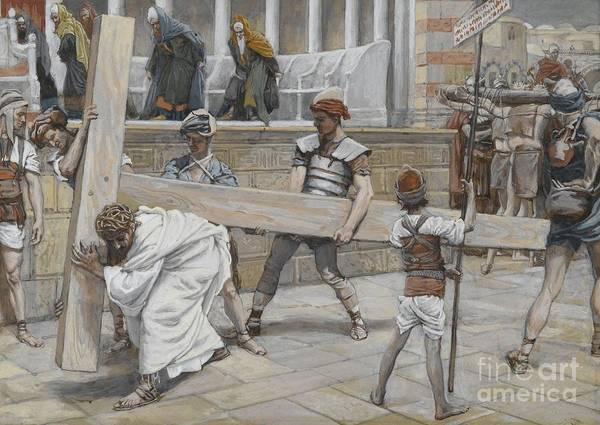 Painting - Jesus Bearing The Cross by Tissot