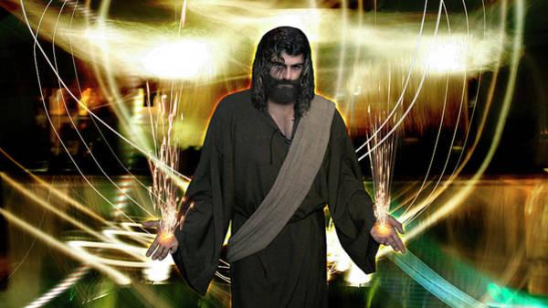 Jesus Christ- God Shines In Glorious Radiance Art Print