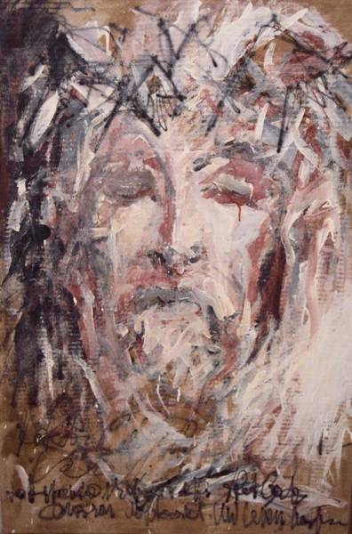 Painting - Jesus Christ by Pierre Van Dijk