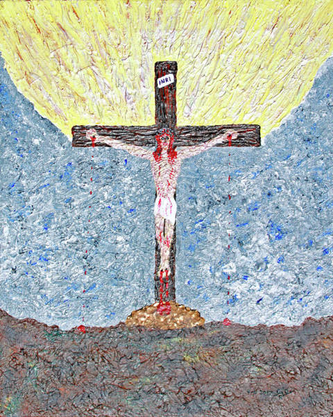 Painting - Jesus Died For Us by Carl Deaville