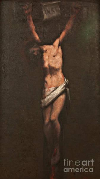 Wall Art - Painting - Jesus Dies On The Cross by Dan Radi