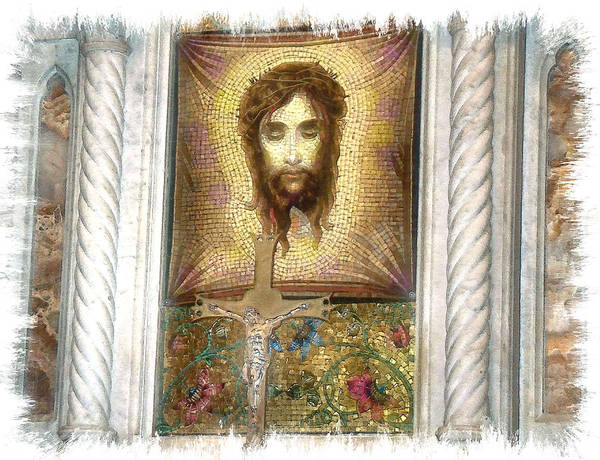 Wall Art - Photograph - Jesus I by Rose Guay
