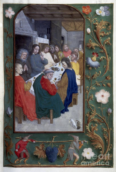 Painting - Jesus: Last Supper by Granger