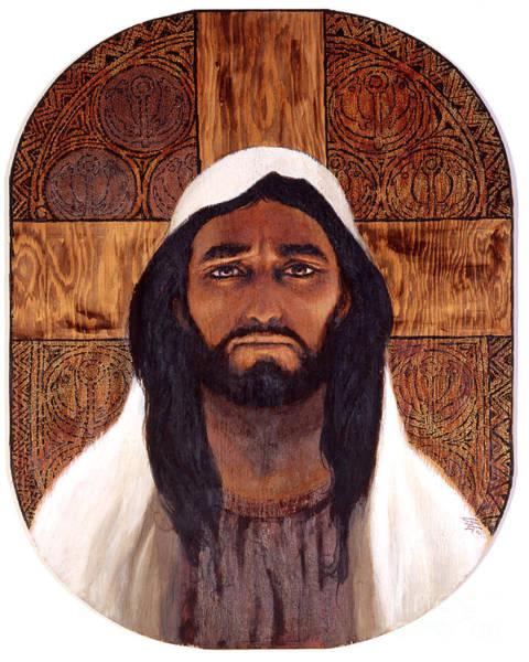 Painting - Jesus - Lgjes by Louis Glanzman