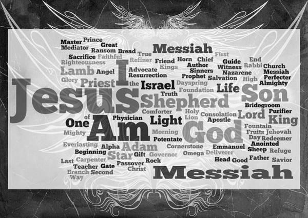 Lamb Of God Wall Art - Digital Art - Jesus Messiah by Angelina Tamez