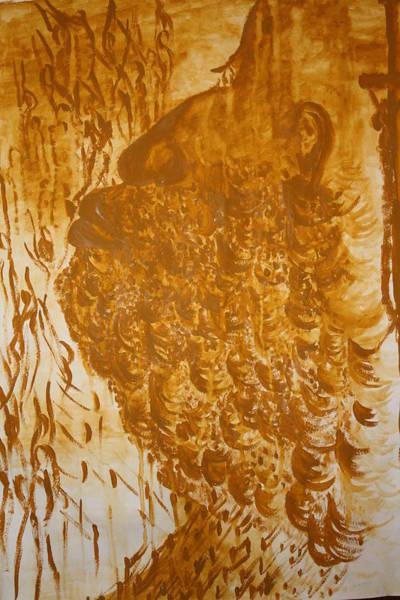 Painting - Jesus Of Gethsemane by Gloria Ssali