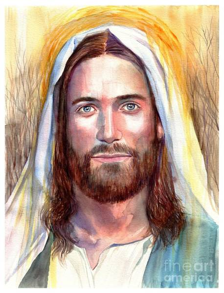 Holy Painting - Jesus Of Nazareth Painting by Suzann's Art