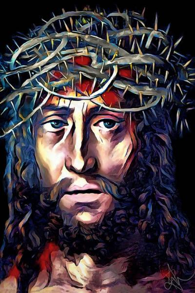 Digital Art - Jesus Our Saviour by Pennie McCracken