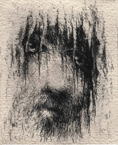 Lamb Of God Wall Art - Drawing - Jesus by William Russell Nowicki