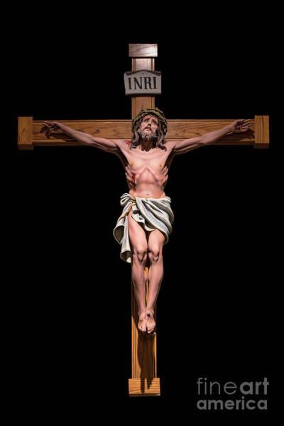 Inri Wall Art - Photograph - Jesus, Savior Of The World by Bonnie Barry