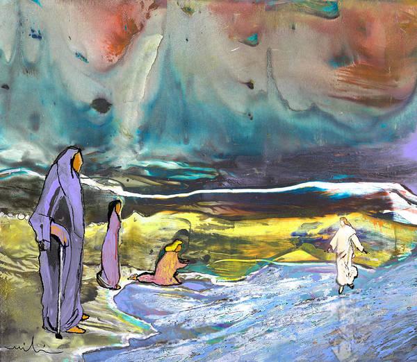 Painting - Jesus Walking On The Water by Miki De Goodaboom
