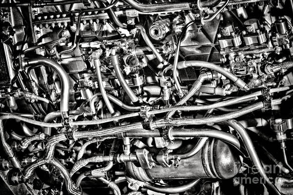 Wall Art - Photograph - Jet Engine by Olivier Le Queinec