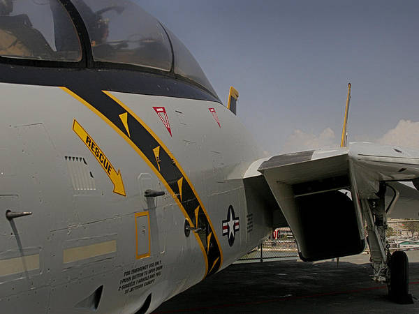 Photograph - Jet Fighter Close Up by Charles McKelroy