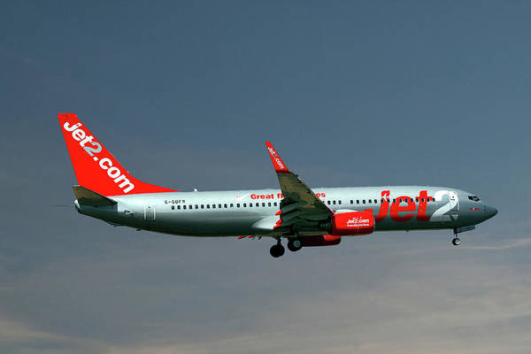 Wall Art - Photograph - Jet2 Boeing 737-8z9 by Smart Aviation