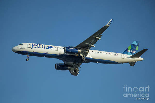 Photograph - jetBlue Airways Airbus A320 Los Angeles Airport Art by Reid Callaway