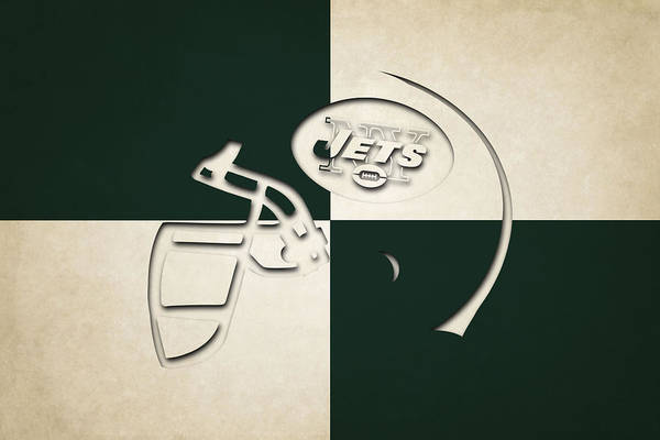 New York Jets Wall Art - Photograph - Jets Helmet Art by Joe Hamilton