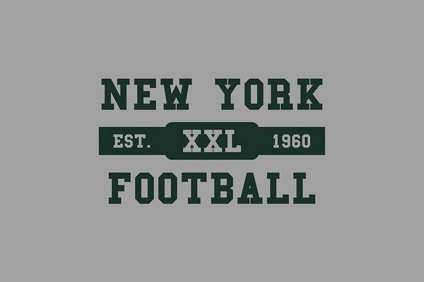 New York Jets Wall Art - Photograph - Jets Retro Shirt by Joe Hamilton