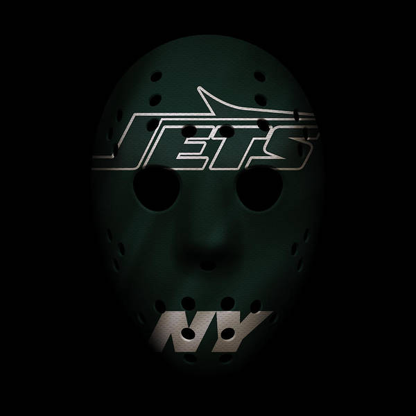 New York Jets Wall Art - Photograph - Jets War Mask 4 by Joe Hamilton